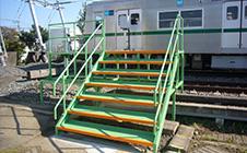 昇降階段ステージ